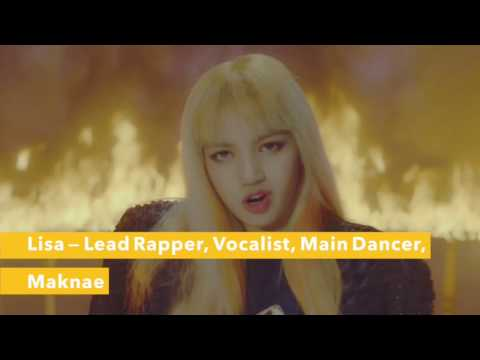 GET TO KNOW: BLACKPINK (Members, voices, looks, positions) PLAYING WITH FIRE, STAY #2