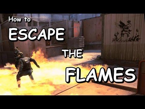 CS:GO - Defusing while molotov'd?