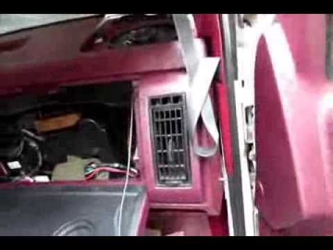 How to Change Blower motor 8898 Chevy truck, Silverado Sierra, Suburban, Tahoe  YouTube