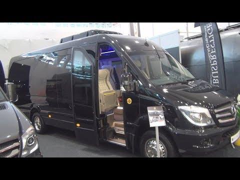 Mercedes-Benz Sprinter 519 CDI Busprestige Bus Exterior And Interior