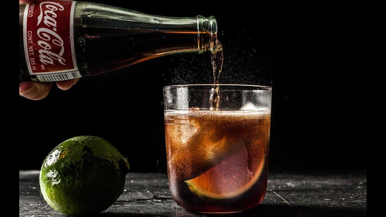 Bacardi Glass Cuba Libre