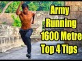Army Running 1600 Metre Top 4 Tips Namo Try Tamil