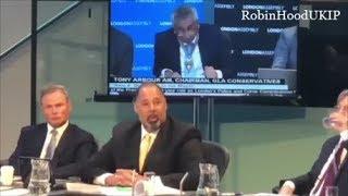 UKIP David Kurten gives Sadiq Khan a verbal battering