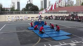 19 Mayıs Atatürk'ü Anma Gençlik ve Spor Bayramı Jimnastik, Basketbol ve Tekvando Gösterisi