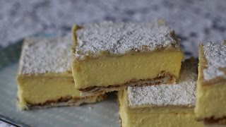 Easy Recipe: How To Make Vanilla Slice