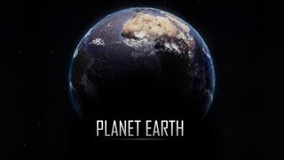 Cinema 4D + Vray + Photoshop - Earth Tutorial