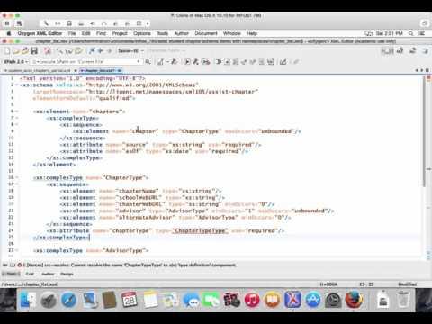 Demo: Using Namespaces With W3C XML Schemas