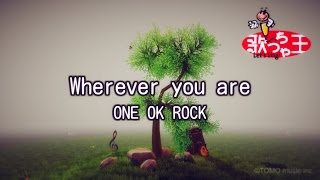 【カラオケ】Wherever you are/ONE OK ROCK
