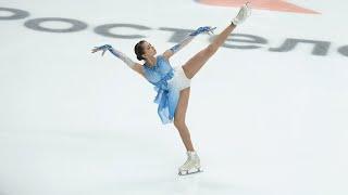 Kamila Valieva Russian Cup Final 2021 SP Камила Валиева Финал Кубка России КП 27 02 2021