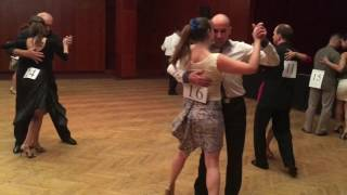 III Budapest Jack and Jill Tango Competition semi-final 2016.