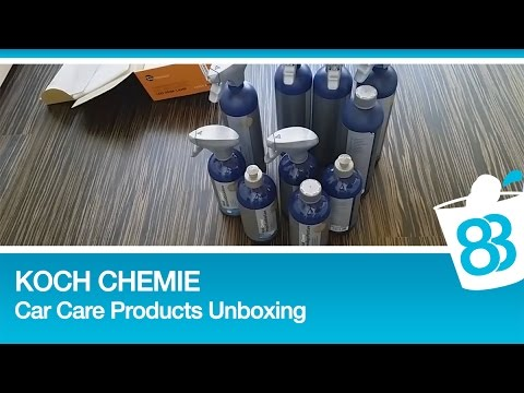 Koch chemie car care products unboxing einmal alles for Koch chemie plast star