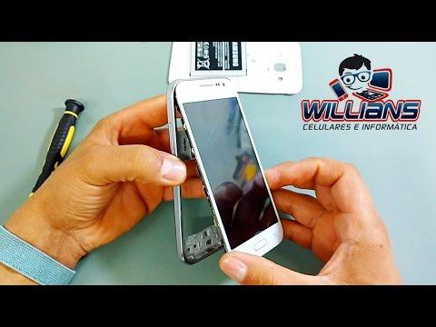 Como desmontar Samsung Galaxy Win 2 SM-G360, G360M, G360BT, Como abrir, Reparar