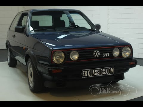 Volkswagen Golf GTI 1988-VIDEO- www.ERclassics.com
