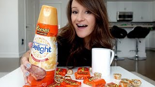 Reese's Peanut Butter Cup Creamer TASTE TEST! 😱