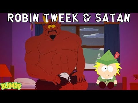 South Park Phone Destroyer ROBIN TWEEK & SATAN