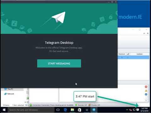 Auto create Telegram accounts with proxy