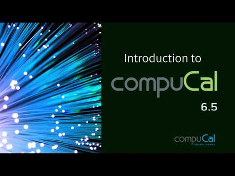 Introduction to CompuCal 6.5