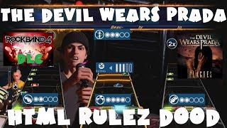 The Devil Wears Prada - HTML Rulez D00d - Rock Band 4 DLC Expert Full Band (Sept 20th, 2018)