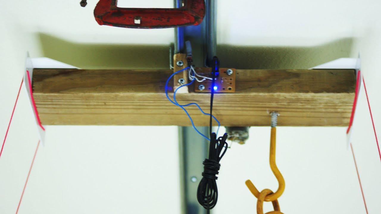 Do it Yourself DIY motorized light system on rail ( light mover ...