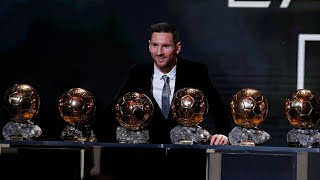 Lionel Messi Wins Ballon D'or 2019 Award Best  Player In The World Hd