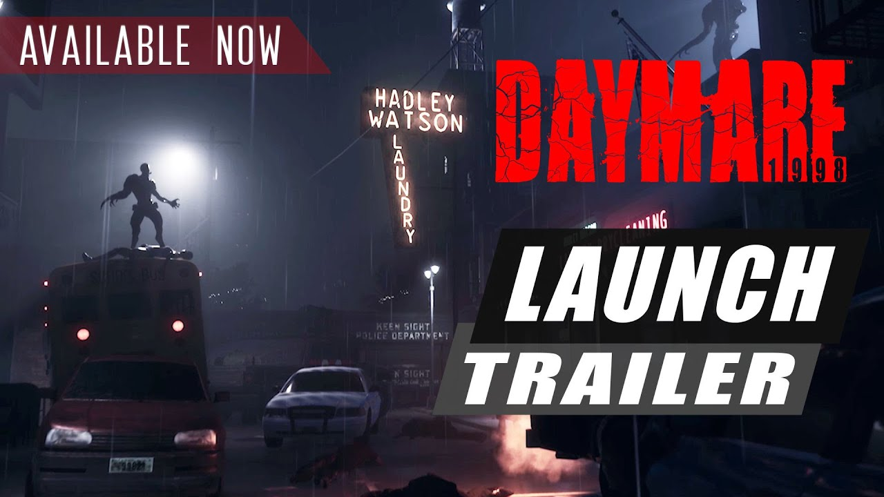 Daymare: 1998 - PlayStation 4 and Xbox One Release Trailer
