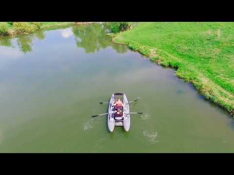 S-класс он и на воде S-класс! Двухместный катамаран Ондатра S390.