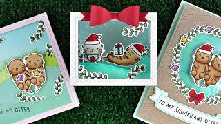 STAMPtember® Lawn Fawn Exclusive: Intro to Christmas Like No Otter