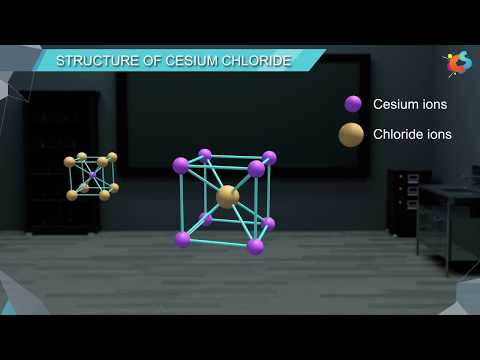 7 - Class 12 - Chemistry - Solid State - Structure of Ionic Compounds