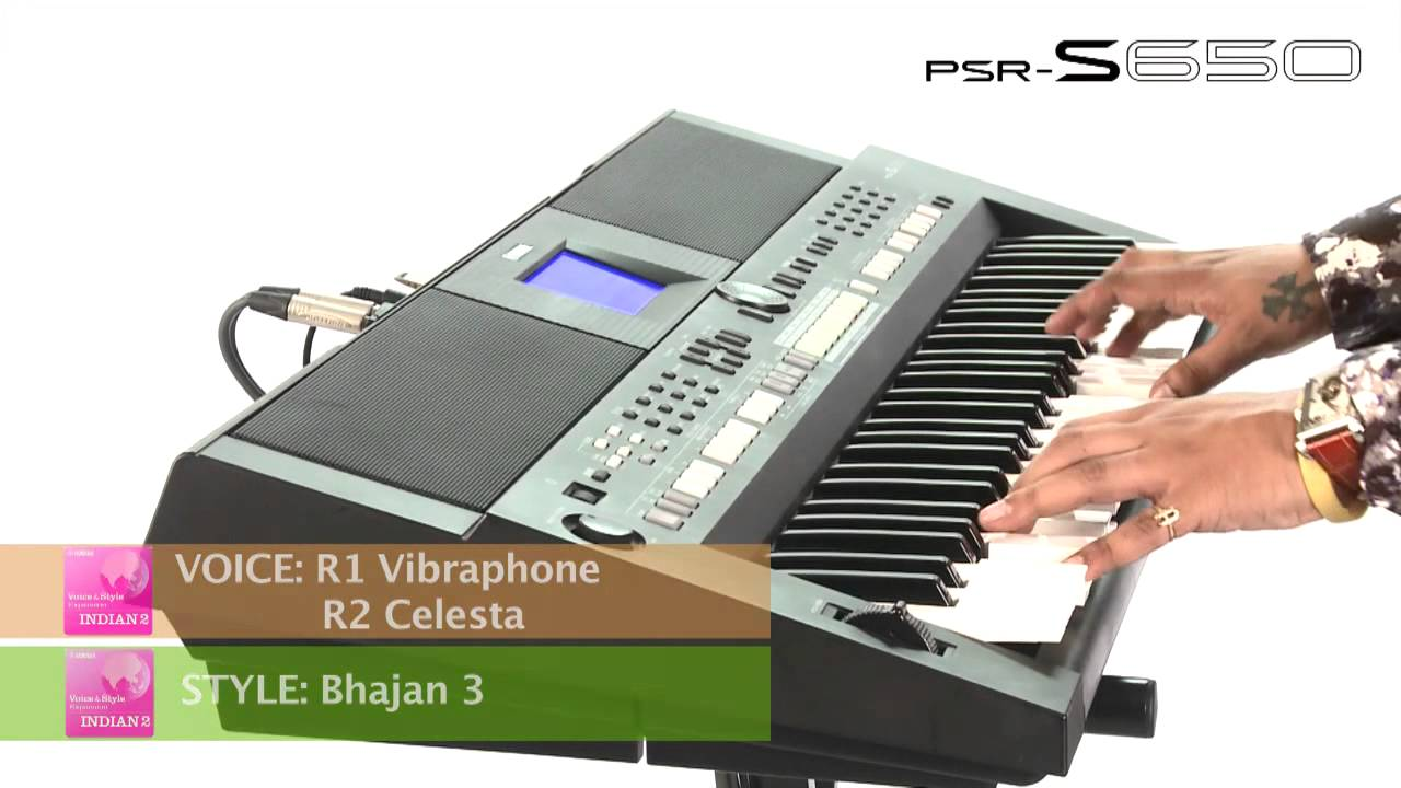 Presentation of indian2 expansion pack on psr s650 youtube for Yamaha expansion pack