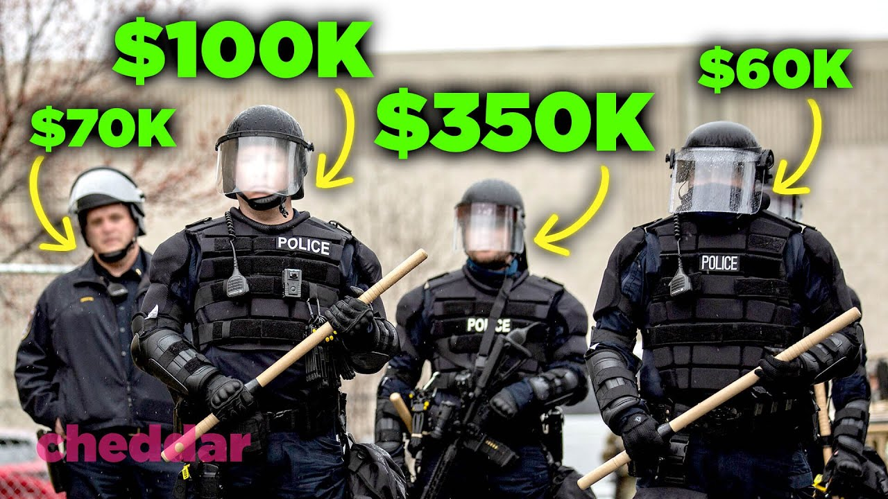 Why Some American Police Make Surprisingly High Salaries - None Of The Above