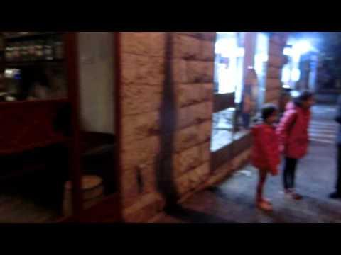 20151201 19:09 Emek Refaim street atmosphere Jerusalem