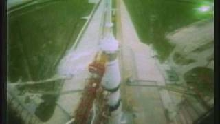Launch of Apollo 13 (NASA Footage)