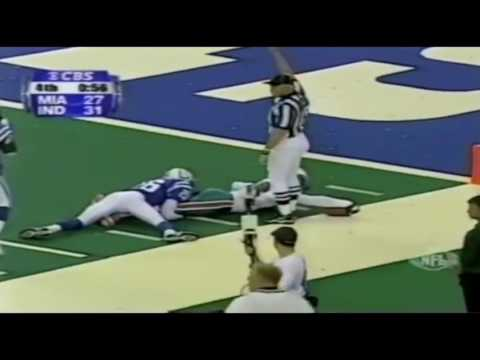 Oronde Gadsden Highlights Miami Dolphins vs Colts 1999