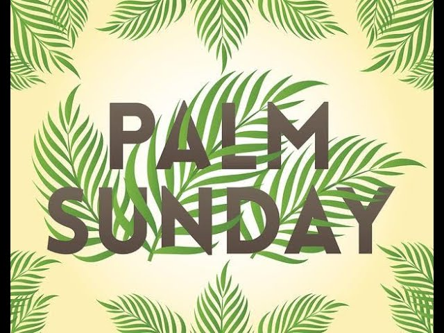 Palm Sunday Sermon 2021 in Common Ground @ FUMC Brownwood