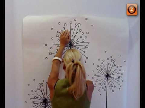 Videotutorial instalaci n de vinilos en pared lisa youtube - Adhesivos pared 3d ...