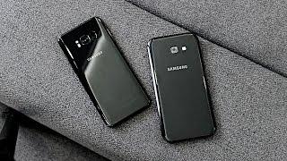 Samsung Galaxy S8 vs A5 2017 - Что Выбрать? Обзор