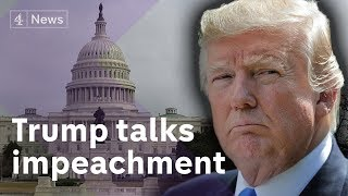 Trump: 'Impeach me and market will crash'