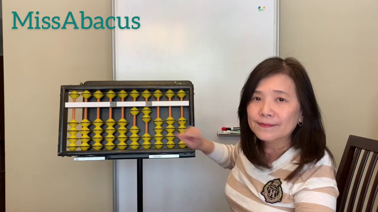 Abacus Mental Math Ep.4 - Adding and subtracting numbers on the Abacus without rules (中文 sub) - YouTube