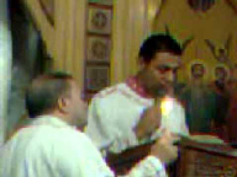 الانجيل المقدس بصوت الشماس الاستاذ رومانى فوزى -كنيسة مارجرجس بالمطريه