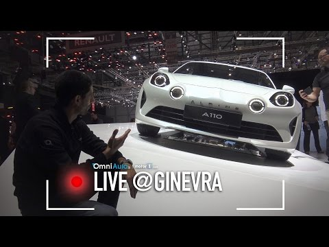 Alpine A110 | Salone di Ginevra 2017