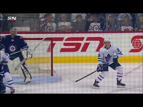 Toronto Maple Leafs vs Winnipeg Jets - October 4, 2017 | Game Highlights | NHL 2017/18
