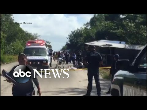 8 American Tourists Killed In Mexico Bus Crash