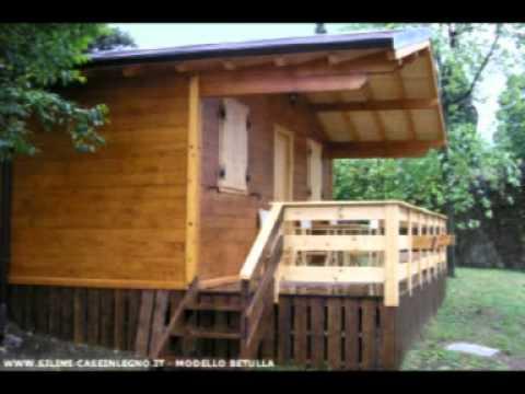 Casa mobile in legno modello betulla youtube for Casa mobile in legno