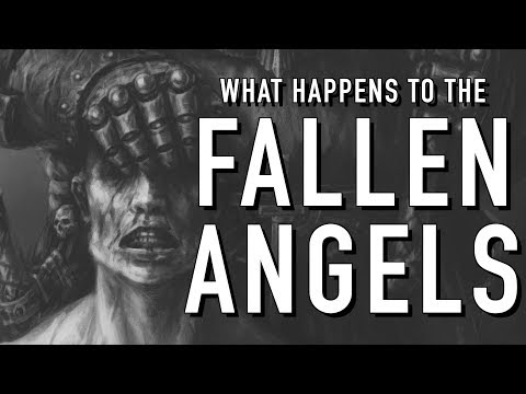 What Happens to the Fallen Angels when Captured in Warhammer 40K For the Greater WAAAGH!