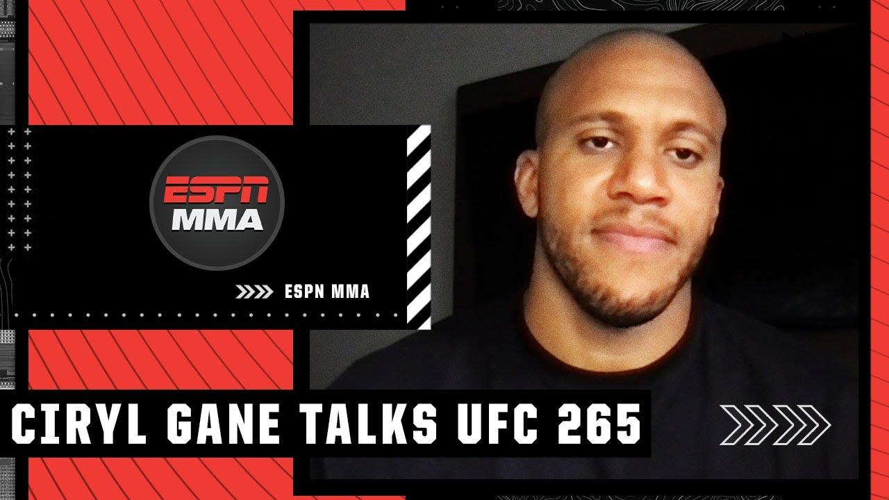 Ciryl Gane previews #UFC265 interim title fight vs. Derrick Lewis | UFC Fight Camp