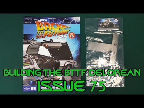Build The Back To The Future Delorean: Issue 75 - From Eaglemoss