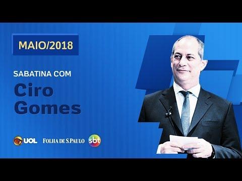 SABATINA COM CIRO GOMES - UOL/FOLHA/SBT