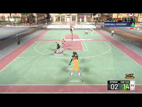First Comp Game With 2 Guards Playing Superstars |