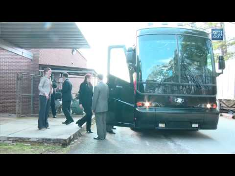 Community College to Career Bus Tour