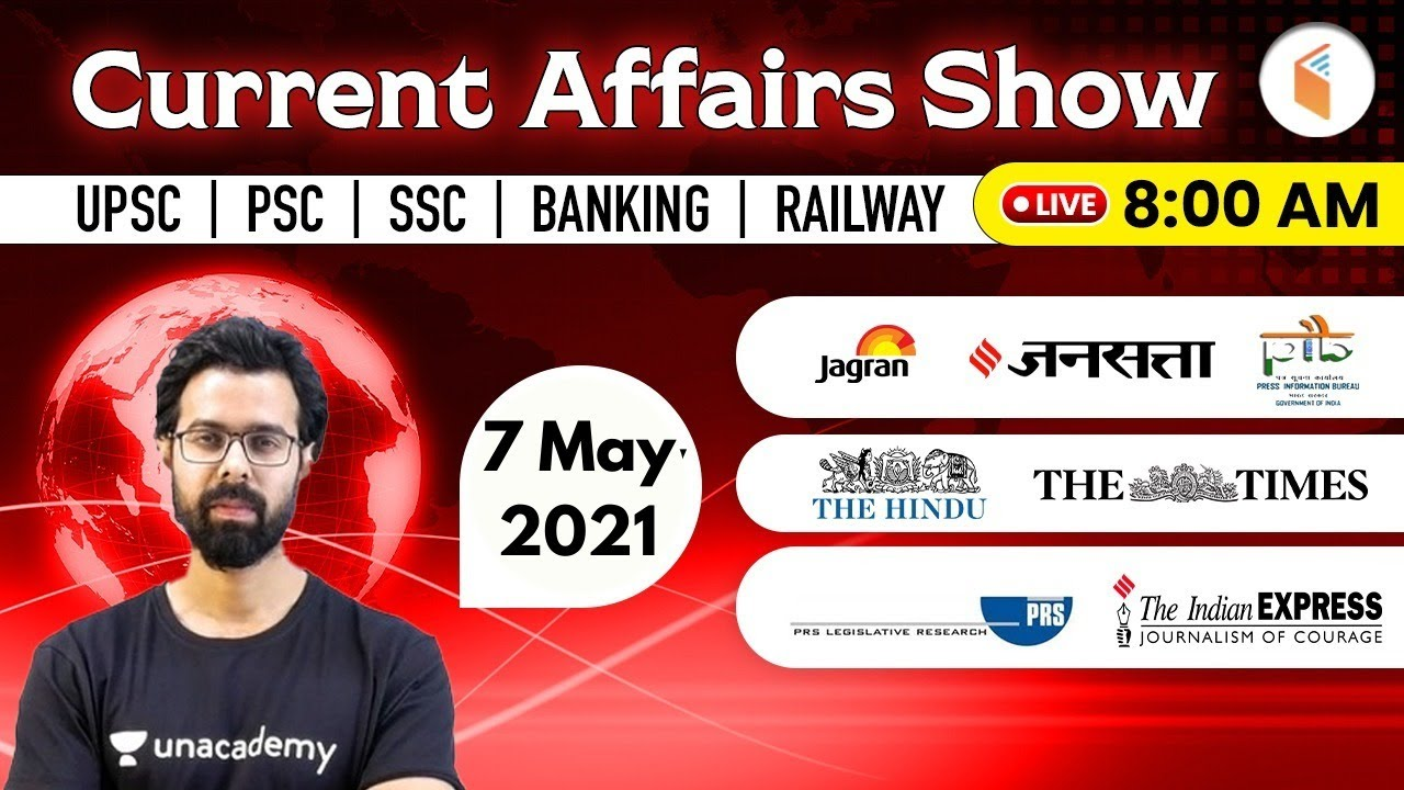 Download 8:00 AM - 7 May 2021 Current Affairs   Daily Current Affairs 2021 by Bhunesh Sir   wifistudy